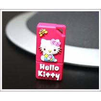 Pen Drive Usb 2.0 Embor Mini Hello Kitty 2gb Na Cor Vermelha
