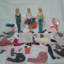 Oferta 20 Unidades Roupinhas Roupas Boneca Barbie Brarato