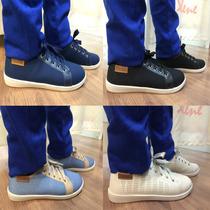 Tenis Moleca Feminino Preto Marinho Branco Jeans Liquidação