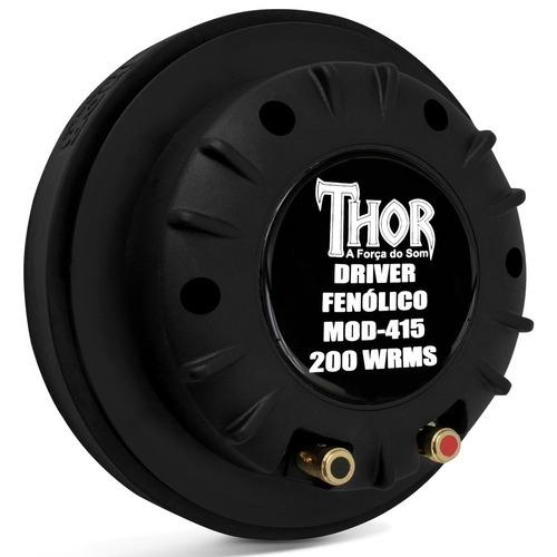 Driver Thor 200w Rms Mais Forte Eros 4160 7200 72250