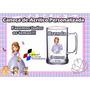 100 Canecas Acrílico Personalizada - Princesa Sofia 300ml