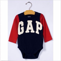 Body Manga Comprida Unissex Baby Gap Original Pronta Entrega