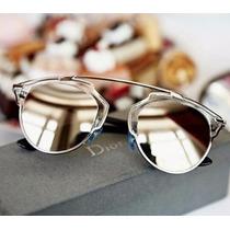 Oculos Unissex Retro Estilo So Real Com Caixa Frete Gratis