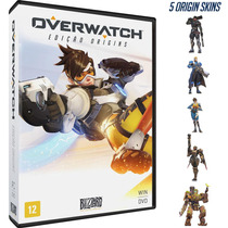 Overwatch Origins Edition - Pc Mídia Digital