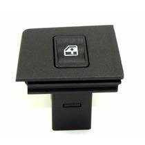 Botão Interruptor Vidro Elétrico Fiat Uno Simples Verde