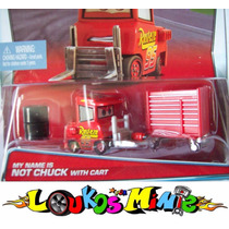 Disney Cars My Name Is Not Chuck With Cart Lacrado