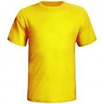 Camiseta Lisa Cores-100% Poliester Tamanho Especial Xgg