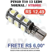 Pingo T10 13 Leds 2 Funçoes - Normal / Strobe Light -unidade