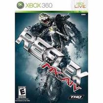 Manual Instruções Mx Vs. Atv Reflex Xbox 360 Original
