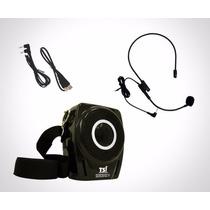 Supervoz 3 Tsi 18 Watts C/ Microfone Cabeça Usb / Sd Em8