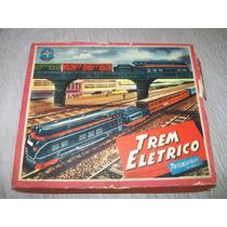 Trem Eletrico Estrela Completo Anos 60- Impecavel