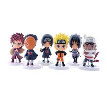Kit C/ 6 Miniaturas Action Figures Naruto - Pronta Entrega!