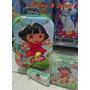 Kit Mochila Infantil Dora Aventureira Lancheira + Estojo 3d