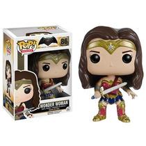 Mulher Maravilha Wonder Woman Batman Vs Superman Funko Pop!