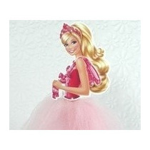 Topo Bolo Barbie Sapatilhas Magicas Bailarina 20 Cm