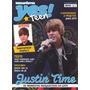 Revista Pôster Justin Bieber Nova! = Gigante 52cm X 81cm!