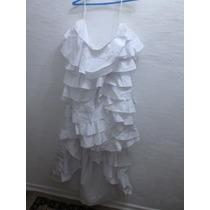 Saia \ Saiote De Vestido De Noiva Em Camadas Otimo Estado