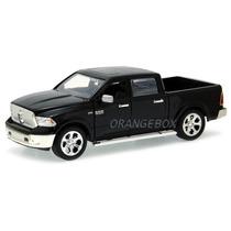 Dodge Ram 1500 2014 Jada Toys 1:24 54039-preto