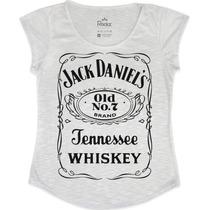 Blusa - T Shirt - Feminina Jack Daniels Whiskey