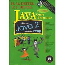 Livro Java ==como Programar Abrange Java 2 Apresentando Sw