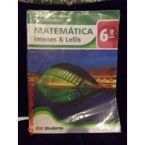Livro Matemática Imenes & Lellis 6° Ano Ed Moderna