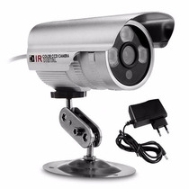 Camera Seguranca Ccd Digital Infra 3 Led Militar 1500 Linhas