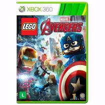 Xbox 360 - Lego Marvel Avengers - Míd Fís - Lacrado - Pt Br