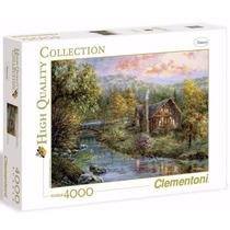 Quebra Cabeça Puzzle Gigante De 4000 Peças Bosque Paisagem
