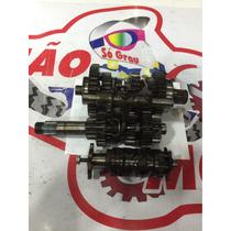 Cambio Caixa De Macha Nx4 Falcon Completo Orig Alemão Motos