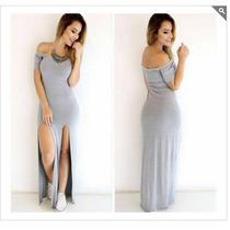 Vestidos Fenda Longo Lindo Vestido