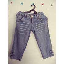Calca Feminina Jeans Capri Cód. 66