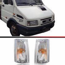 Par Lanterna Dianteira Iveco Daily 94 95 96 97 98 99 Cristal