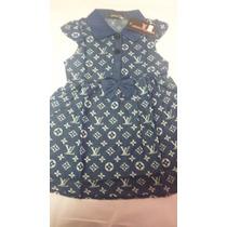 Vestido Polo Lv Infantil Crianca Menina 3 A 4 Anos Festa
