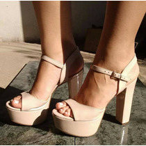 Sandália Salto Elegante Confortável