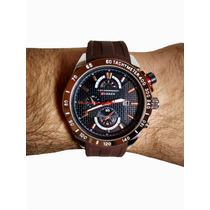Relógio Curren Mod.8148 Preto E Dourado - Novo - Barato