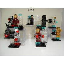 Iron Man Homem De Ferro Tony Stark War Machine Lego 7 Opções