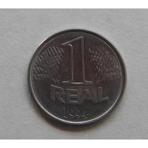 V454 - Bela Moeda De 1 Real De 1994 Fc - Recolhida