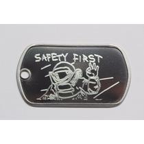 Placa Dog Tag Premium Gravação Battlefield Bf Razer