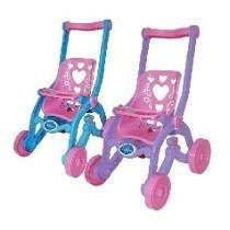 Carrinho De Boneca Brinquemix Princesas/florzinha Coração