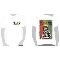 Camisetas Camisas Bob Marley - One Love - Reggae, Cd, Dvd