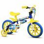 Bicicletinha Bicicleta Infantil Menino Aro 12 Nathor