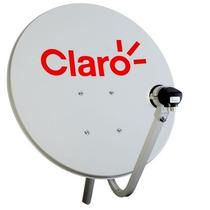 Antena Mini Parabólica 90cm Claro Tv Hd - Century