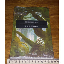 As Aventuras De Tom Bombadil Edição Bilingue Livro Novo