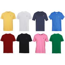Kit 3 Camisetas Aleatory Masculino Kit 3 Frete Gratis