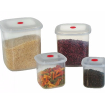 Tupperware Tapoer 4 Potes Microondas - Freezer - Lava Louças