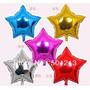 Balão Metalizado Estrela 45 Cm. Cores Frete A Partir R$ 7,00