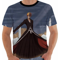 Camiseta Bleach - Ichigo - Anime - Mangá