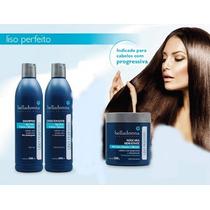 Belladonna Kit Liso Pós-progressiva Shampoo+cond+masc