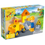 Brinquedo Blocos De Montar Banbao Kit Veículos De Obras 9665
