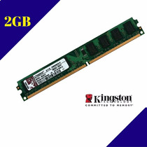 Memória Kingston Ddr2 2gb 800mhz Pc2-6400 Ref.2375